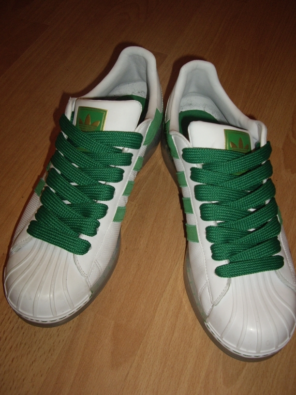 Fat Green Laces